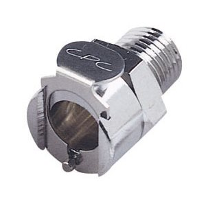 1 / 4 NPT Non-Valved Chrome-plated Brass Coupling Body
