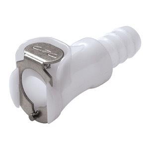 3 / 8 Hose Barb Non-Valved In-Line Acetal Coupling Body
