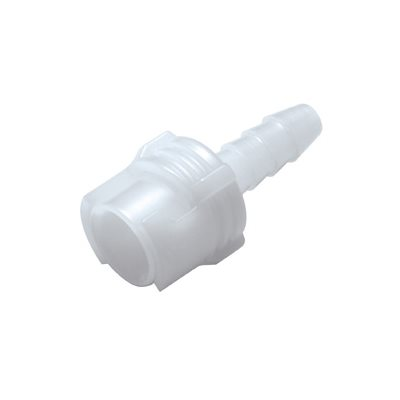 1 / 8 Hose Barb Non-Valved In-Line Acetal Coupling Body