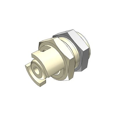 1 / 8 Hose Barb Non-Valved Panel Mount Polypropylene Coupling Insert